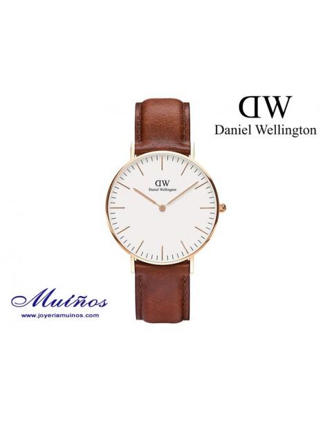 Reloj oro rosa Classic St Mawes 36mm mujer Daniel Wellington