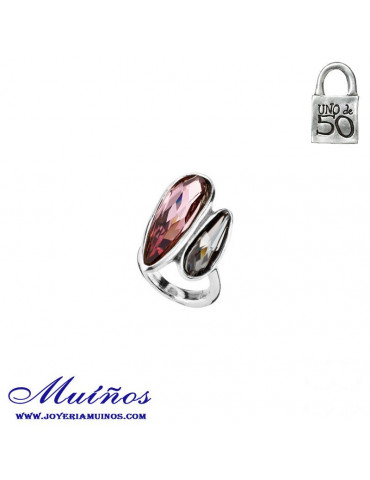 Anillo You and Me Uno de 50 Swarovski