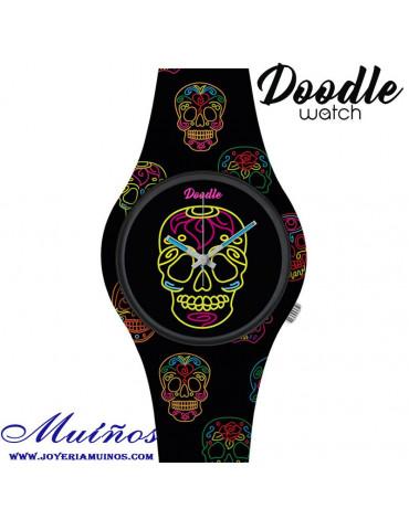 Reloj Tatuaje CALAVERA DOODLE