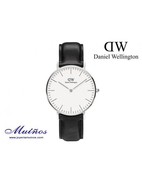 Reloj plateado Classic Sheffield 36mm mujer Daniel Wellington