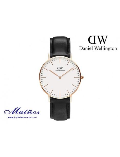 Reloj oro rosa Classic Sheffield 36mm mujer Daniel Wellington