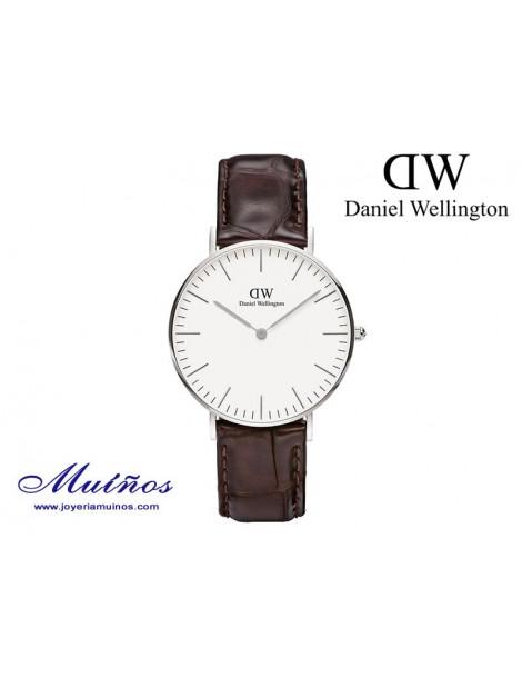 Reloj plateado Classic York 36mm mujer Daniel Wellington