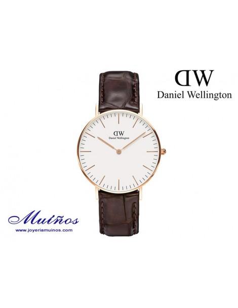 Reloj oro rosa Classic York 36mm mujer Daniel Wellington