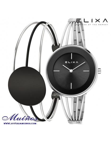 Reloj Elixa Beauty mujer 3 colores con circonitas