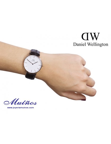 Reloj Classic York 36mm mujer Daniel Wellington