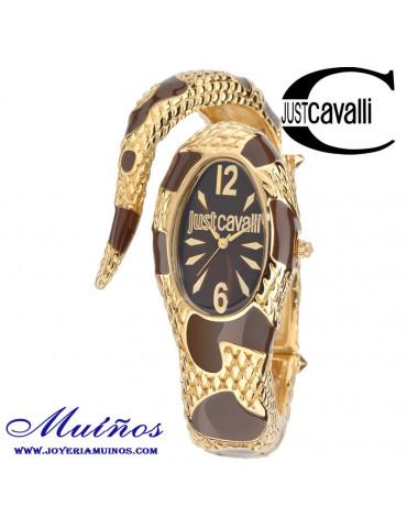 Just Cavalli reloj serpiente mujer