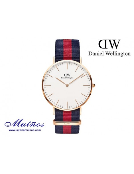 Reloj Classic Oxford oro rosa Daniel Wellington 40mm