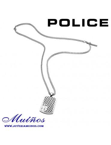 colgante chapa alloway police