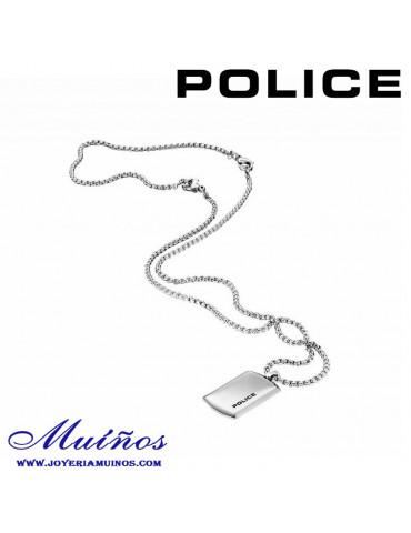 Colgante chapa police purity