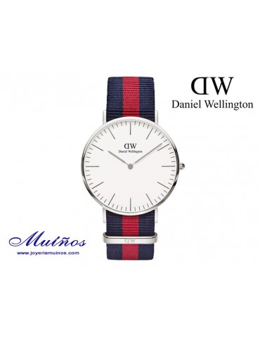 Reloj Classic Oxford plateado Daniel Wellington 40mm