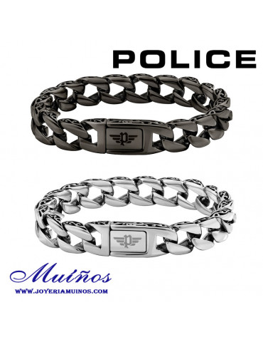 Pulseras Police Elberton acero