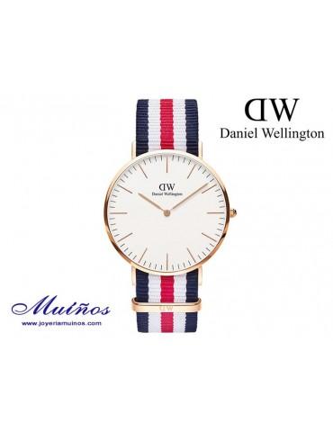 Reloj Classic Canterbury oro rosa Daniel Wellington 40mm