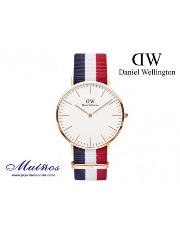 Reloj Classic Cambridge oro rosa Daniel Wellington 40mm