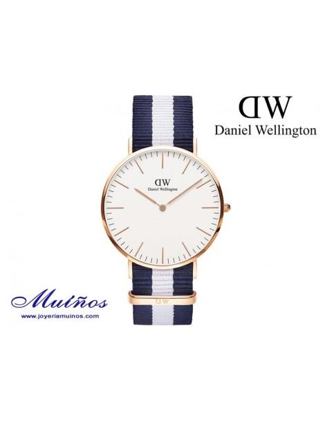 Reloj Classic Glasgow oro rosa Daniel Wellington 40mm