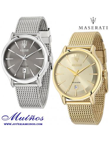 Reloj Maserati Epoca dorado...