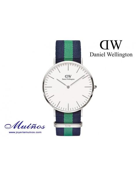 Reloj Classic Warwick plateado Daniel Wellington 40mm