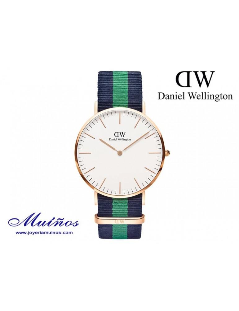 Reloj Classic Warwick oro rosa Daniel Wellington 40mm