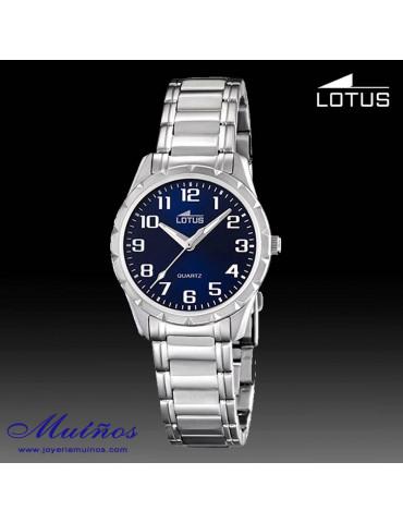Reloj Niño Lotus acero...