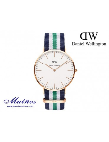 Reloj Classic Notthingham oro rosa Daniel Wellington 40mm