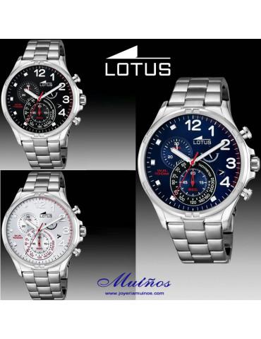 Reloj Lotus Minimalist Hombre ACERO
