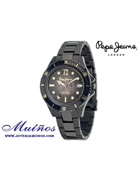 Reloj Pepe Jeans Brian Collection acero negro