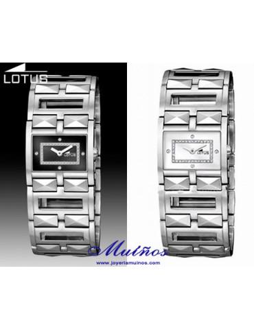 Reloj lotus con circonitas