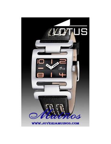 Reloj cuadrado mujer lotus 15565
