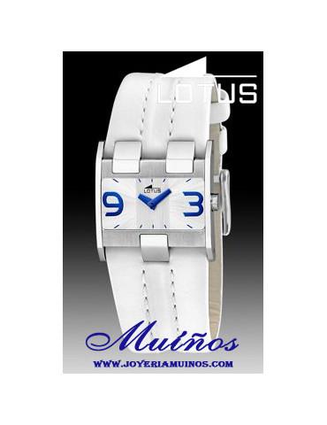 Reloj Lotus Mujer cuadrado...