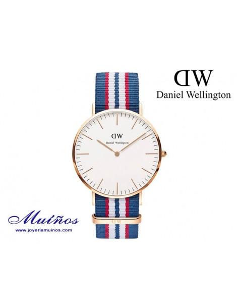 Reloj Classic Belfast oro rosa Daniel Wellington 40mm