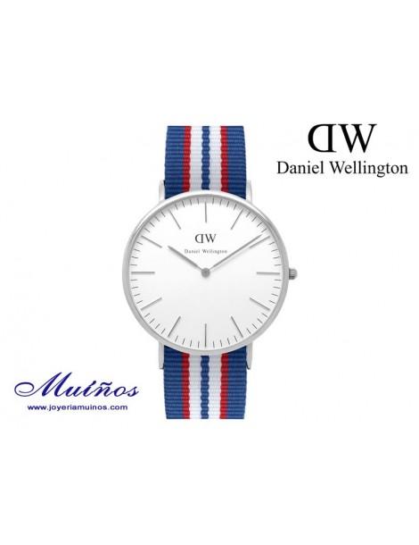 Reloj Classic Belfast plateado Daniel Wellington 40mm