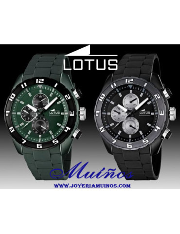 Reloj Crono lotus hombre 15842