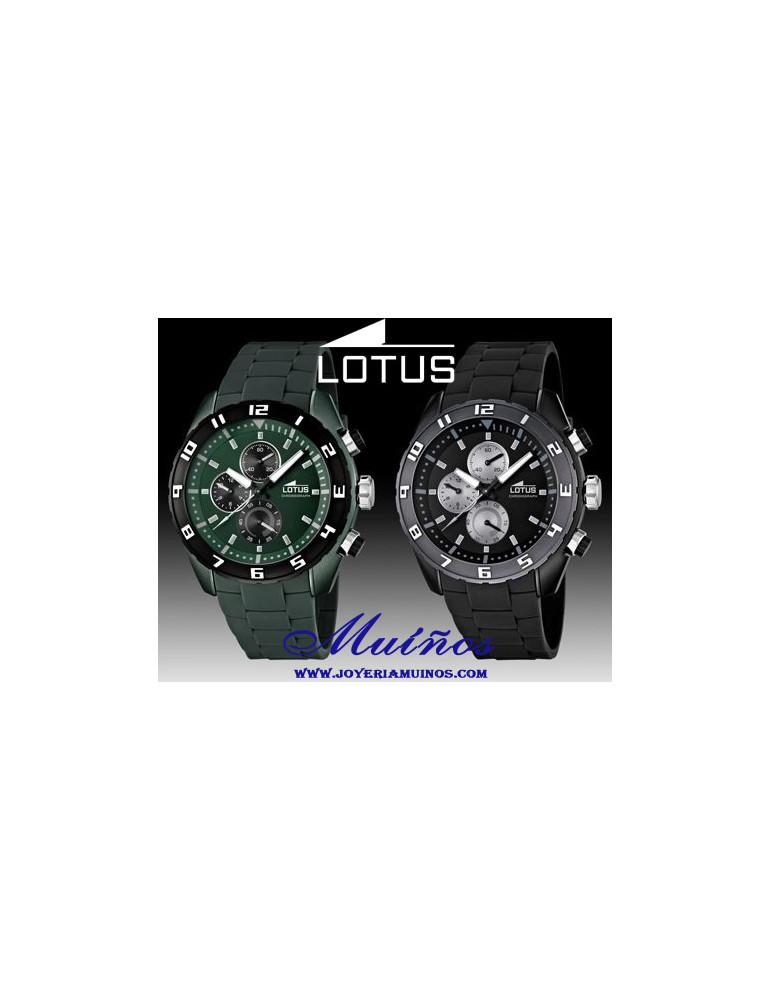 Reloj Lotus hombre crono outlet Color Verde