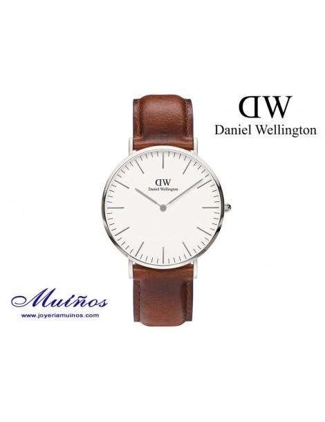 Reloj Classic St Mawes plateado Daniel Wellington 40mm