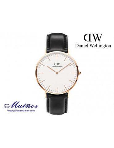 Reloj Classic Sheffield oro rosa Daniel Wellington 40mm