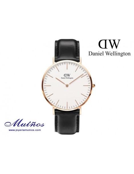 Reloj Classic Sheffield oro rosa Daniel Wellington 40mm