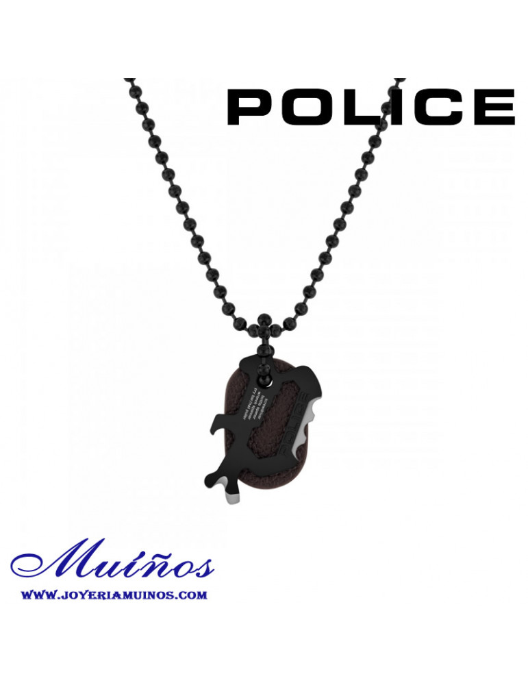 colgante abrelatas police acero