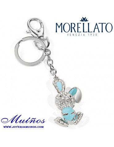 Llavero Morellato Conejo Azul