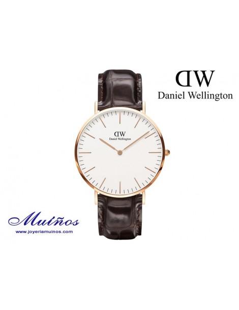 Reloj Classic York oro rosa Daniel Wellington 40mm