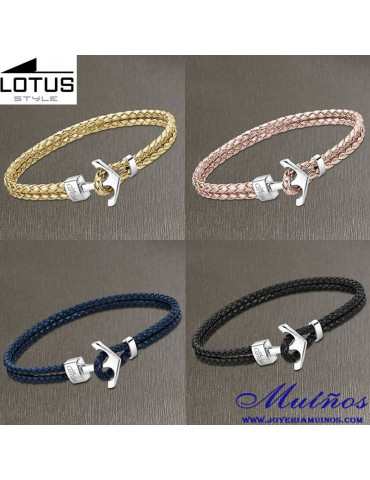 Pulseras Lotus Style Anclas