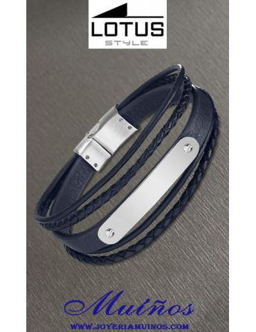 lotus style ls2046 pulsera cordones joyería muíños