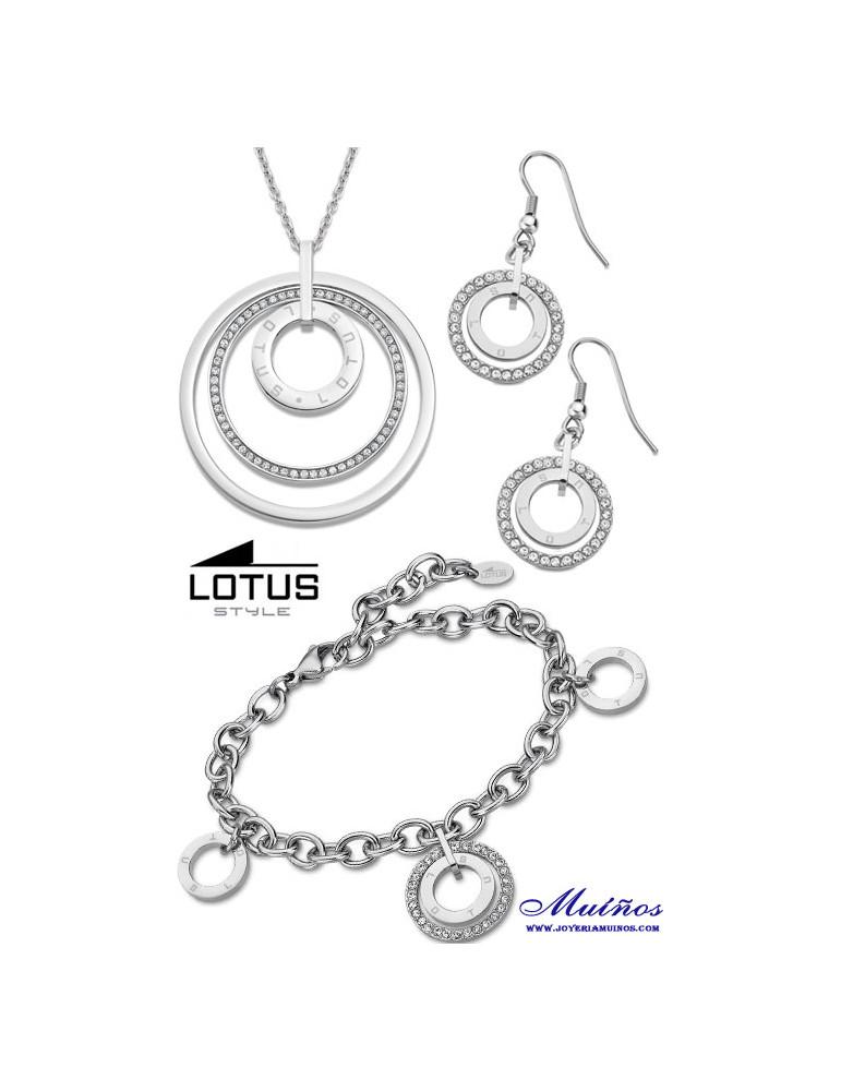 Pack lotus style acero aros ls2090