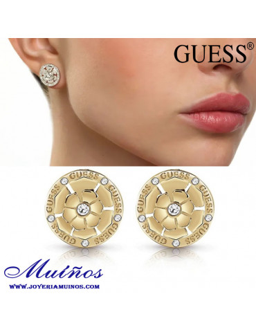 Pendientes Guess Peonia