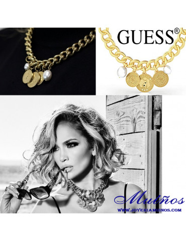 Jennifer Lopez collar guess