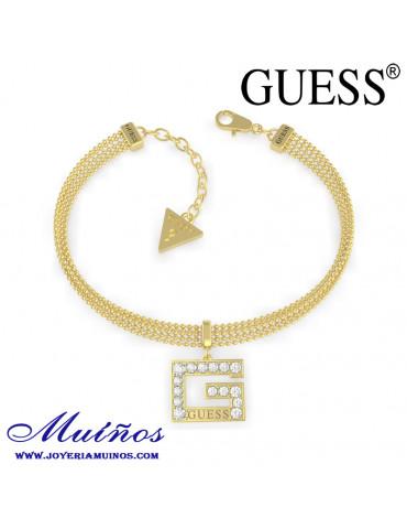 pulsera Guess dorada ubb79088