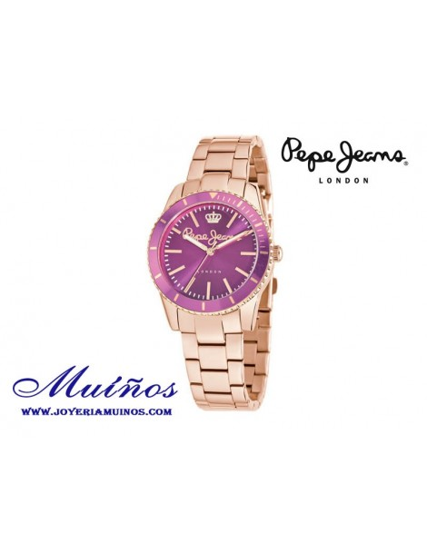 Reloj Pepe Jeans Carrie Collection oro rosa