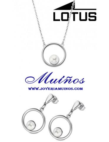 conjunto pack lotus style con perla