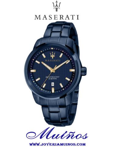 Reloj Maserati azul Blue Edition Successo