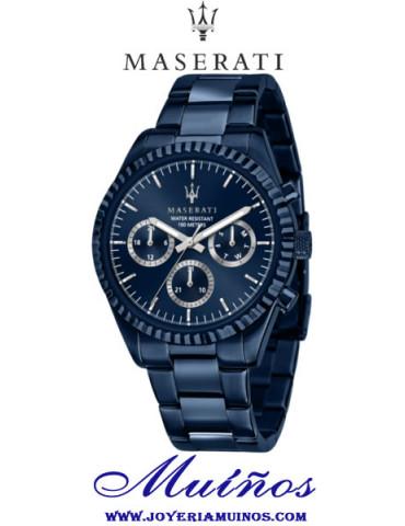 Reloj Maserati Competizione Blue Edition AZul