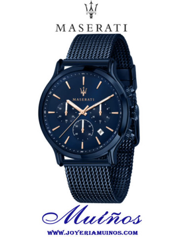 Reloj Maserati Blue Edition Epoca