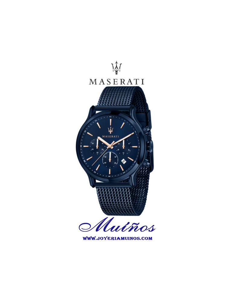 reloj maserati blue edition epoca crono